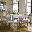 Stanley Furniture Coastal Living Resort 7 Piece Dining Set in Sail Cloth