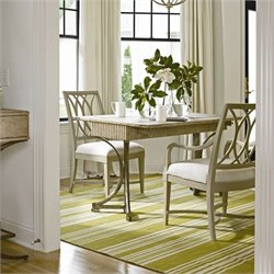 Stanley Furniture Coastal Living Resort 3 Piece Dining Set in Sandy Linen