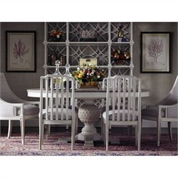 Stanley Furniture Preserve 7 Piece Dining Set in Orchid