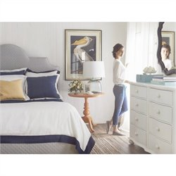 Stanley Furniture Coastal Living Retreat 4-Piece Bedroom Set with Mirror