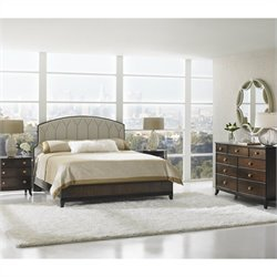 Stanley Furniture Crestaire 5 Piece Bedroom Set in Porter