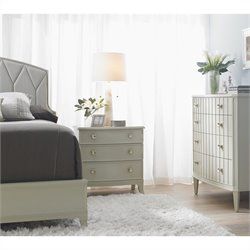 Stanley Furniture Crestaire 3-Piece Upholstered Bedroom Set in Capiz