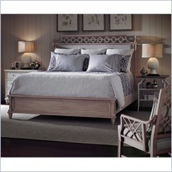 Stanley Furniture Preserve 3-Piece Upholstered Bedroom Set in Rose and Orchid