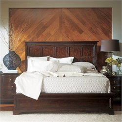 Stanley Furniture Transitional Bedroom Set in Polished Sable