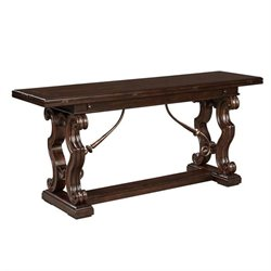 Stanley Furniture Casa D'Onore Flip Top Console Table in Sella