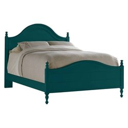 Stanley Furniture Coastal Living Retreat Queen Bungalow Bed in Belize Teal