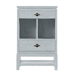 Stanley Coastal Living Resort 2 Drawer Nightstand in Sea Salt