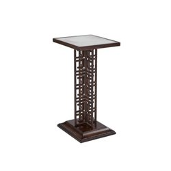 Stanley Villa Couture Veronica Table in Mottled Walnut