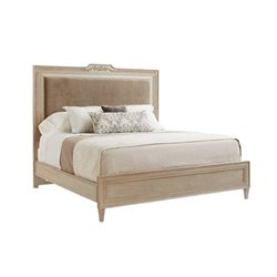 Stanley Villa Couture King Alessandra Upholstered Bed in Glaze