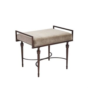 Stanley Villa Couture Catarina Bed End Bench in Antique Bronze