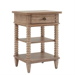 Stanley Furniture Hadley 1 Drawer Telephone Table in Rafter