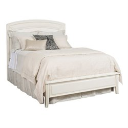American Drew Siesta Sands Queen Panel Bed in White Sands