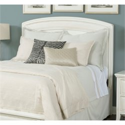 American Drew Siesta Sands Queen Panel Headboard in White Sands