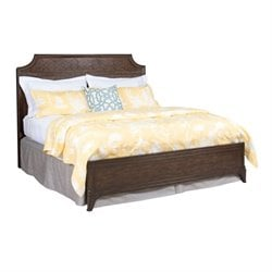 Grantham Hall Panel Bed in Coffee