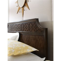 American Drew Grantham Hall King Panel Headboard in Coffee