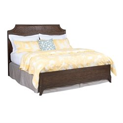 American Drew Grantham Hall California King Panel Bed in Coffee