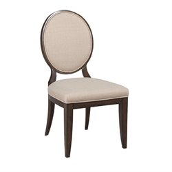 American Drew Grantham Hall Upholstered Dining Chair in Coffee