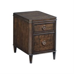 American Drew Grantham Hall End Table in Coffee