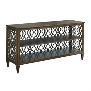 American Drew Grantham Hall Console Table in Coffee