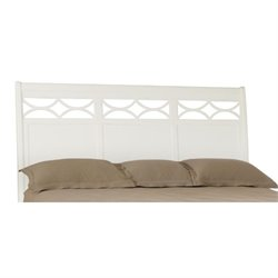 American Drew Lynn Haven King Sleigh Headboard in White