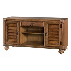 American Drew Grand Isle TV Stand in Amber