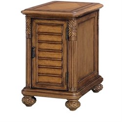 American Drew Grand Isle End Table in Amber