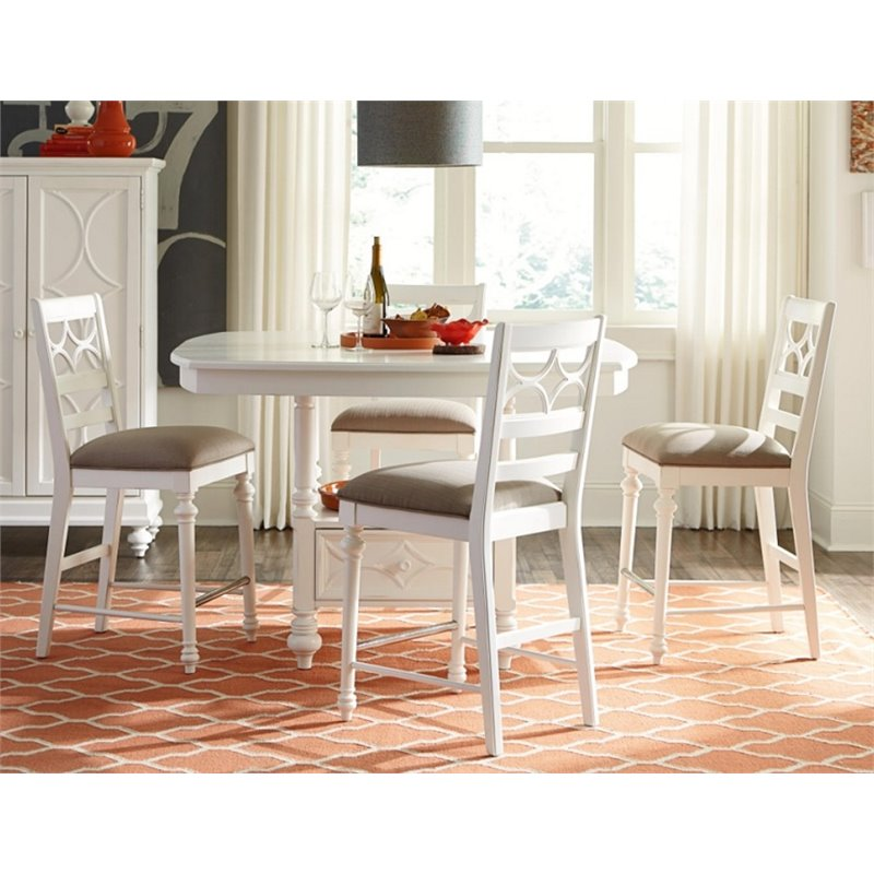 American Drew Lynn Haven 5 Piece Counter Height Dining Set