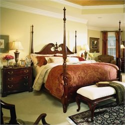 American Drew Cherry Grove Wood Poster Bed 3 Piece Bedroom Set