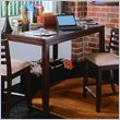 ADD TO YOUR SET: American Drew Tribecca Square/Rectangular Gathering Table in Brown Finish