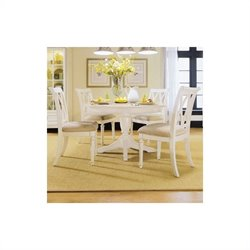American Drew Camden  Round/Oval Casual Dining Table in Buttermilk