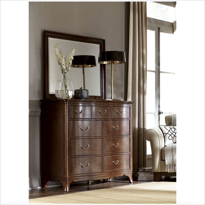 Cherry Grove Drawer Dresser in Mid Tone Brown