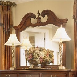 American Drew Cherry Grove Landscape Mirror with Supports