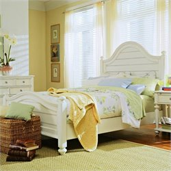 American Drew Camden Panel Bed in Buttermilk Finish - California King