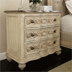 American Drew Jessica McClintock The Boutique Bachelor Chest in White Veil