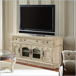 American Drew Jessica McClintock The Boutique Entertainment Console in White Veil