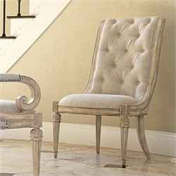 American Drew Jessica McClintock The Boutique Side Chair in White