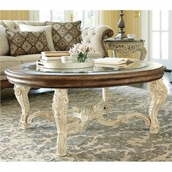 American Drew Jessica McClintock The Boutique Coffee Table in White