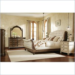American Drew Jessica McClintock The Boutique 5 Piece Sleigh Bedroom Set