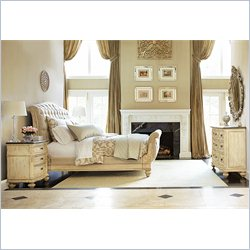 American Drew Jessica McClintock The Boutique 4 Piece Sleigh Bedroom Set