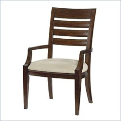 American Drew Miramar Slat Back Arm Dining Chair