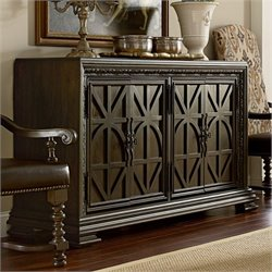 American Drew Casalone 4 Door Wood Buffet in Cafe