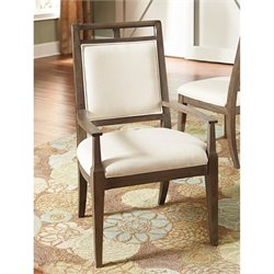 American Drew Park Studio Fabric Arm Chair in Sunbrella