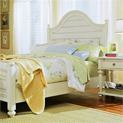 American Drew Camden Panel Bed 2 Piece Bedroom Set in Buttermilk