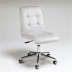Pastel Furniture Hoquiam Office Chair in Ivory