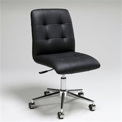 Pastel Furniture Hoquiam Office Chair in Black