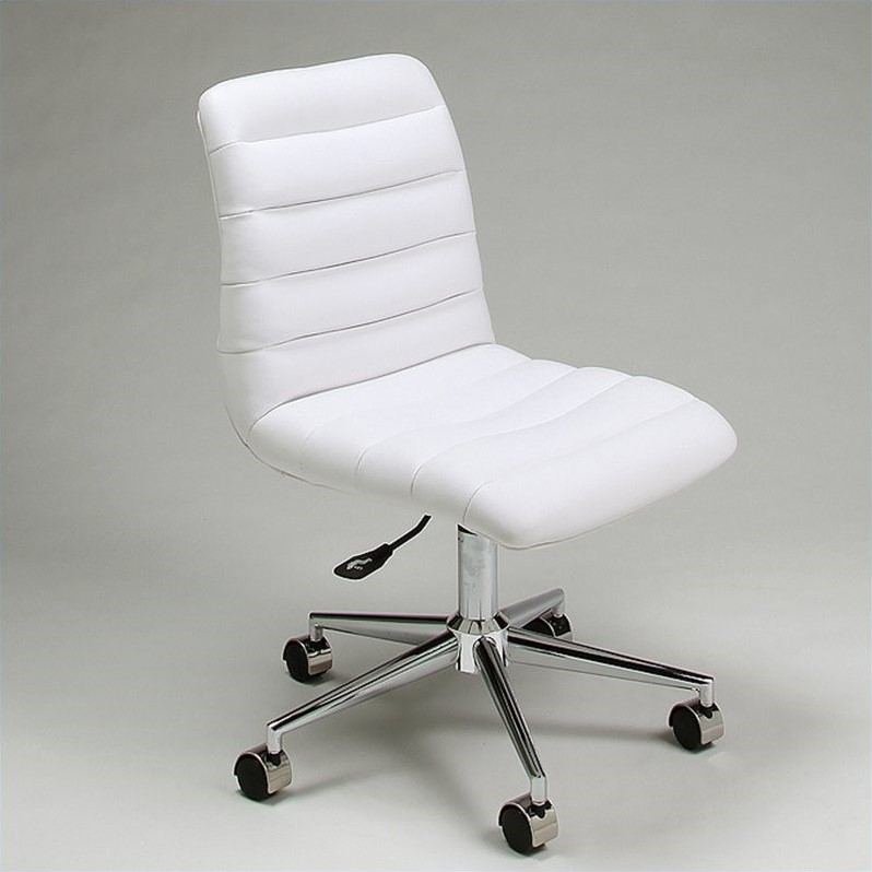 Pastel Furniture Hawthorne Office Chair in Ivory