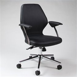 Pastel Furniture Ibanez Office Chair in Black