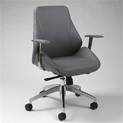 Pastel Furniture Isobella Office Chair in Grey