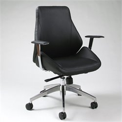 Pastel Furniture Isobella Office Chair in Black