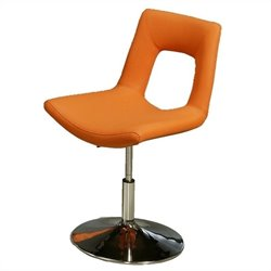 Pastel Furniture Dublin  Dining Chair with Lift Upholstered in Orange